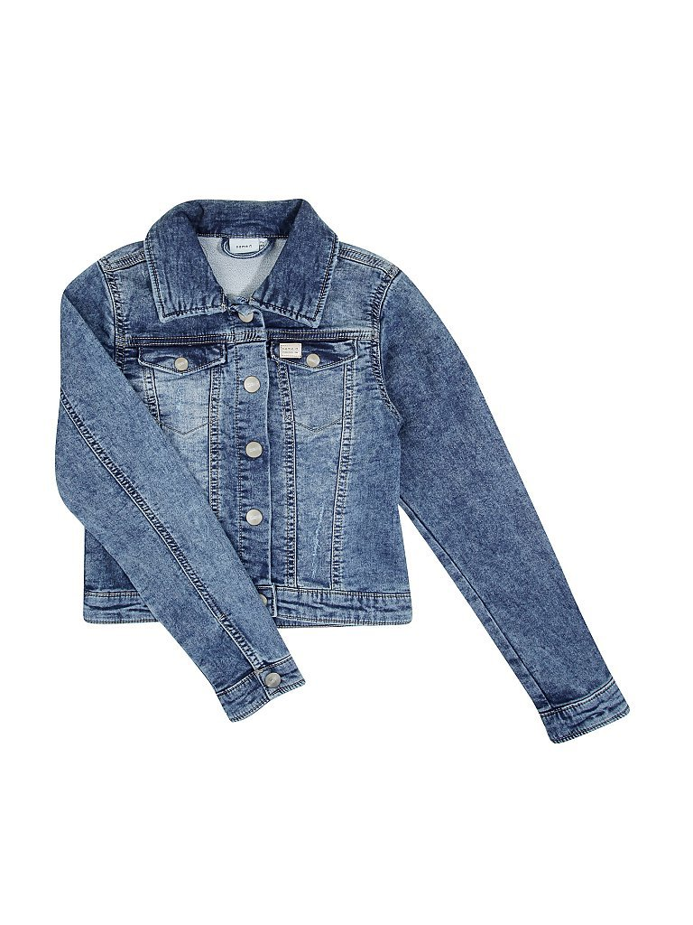 NAME IT Mädchen-Jeansjacke blau | 140