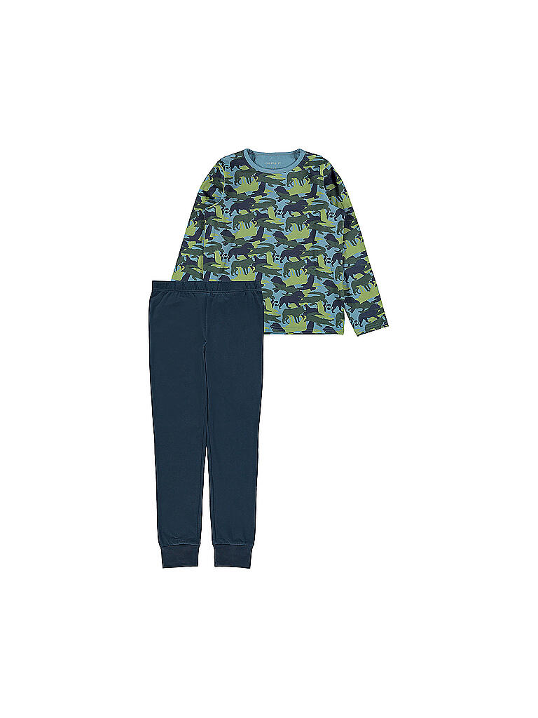 NAME IT | Jungen Pyjama  | blau