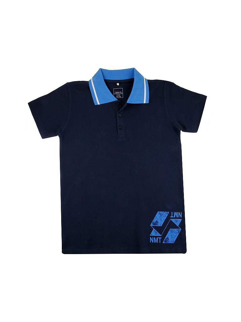 NAME IT | Knaben-Poloshirt | blau