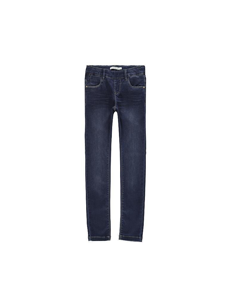 NAME IT M/ädchen Jeans dunkelblau 116