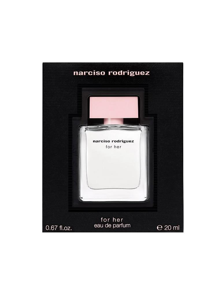 NARCISO RODRIGUEZ | For Her Eau de Parfum 20ml | transparent