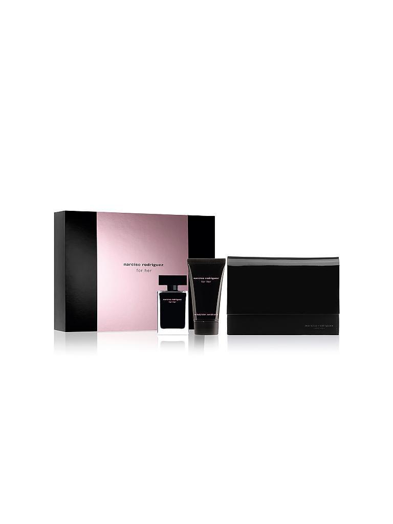 narciso rodriguez x mas set for her eau de toilette 2x50ml transparent. Black Bedroom Furniture Sets. Home Design Ideas