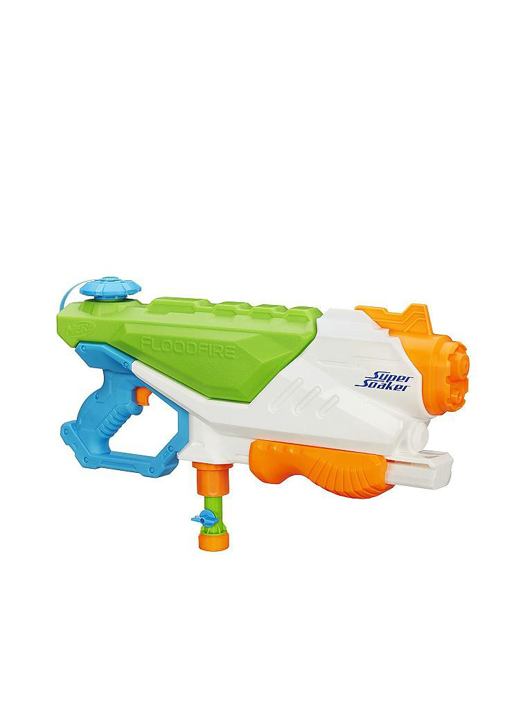 NERF | Super Soaker - FloodFire Wasserpistole  | transparent
