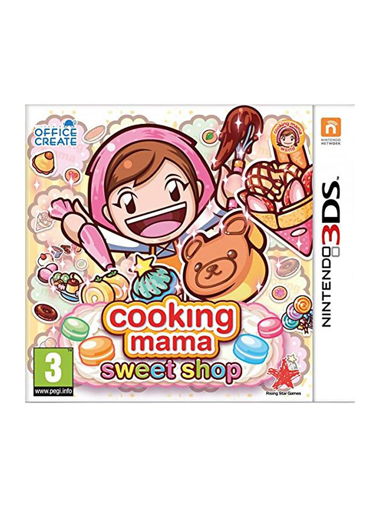 NINTENDO 3DS | Cooking Mama - Sweet Shop  | transparent