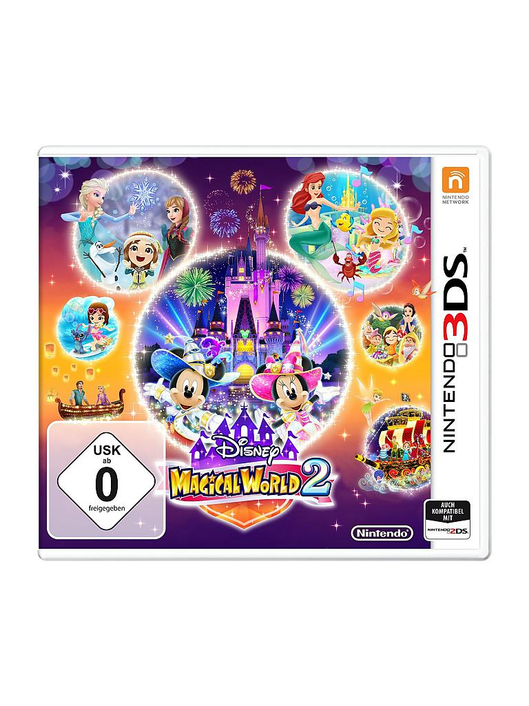 NINTENDO 3DS | Disney Magical World 2  | transparent