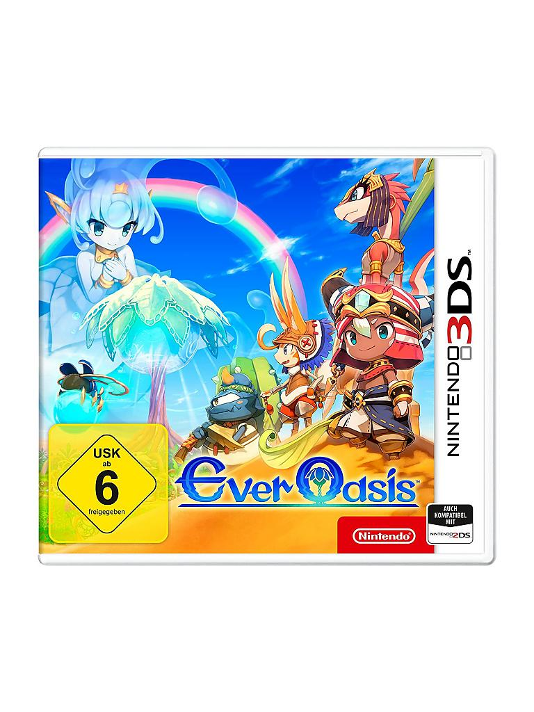 NINTENDO 3DS | Ever Oasis | transparent