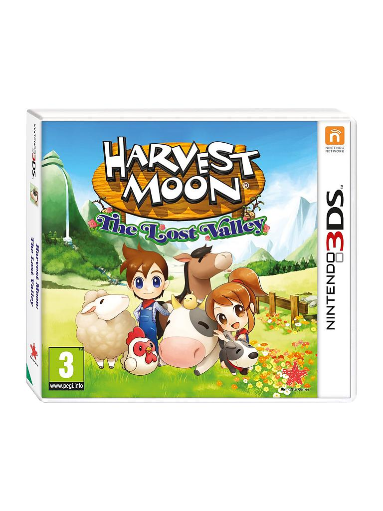 NINTENDO 3DS | Harvest Moon - The lost Valley | transparent