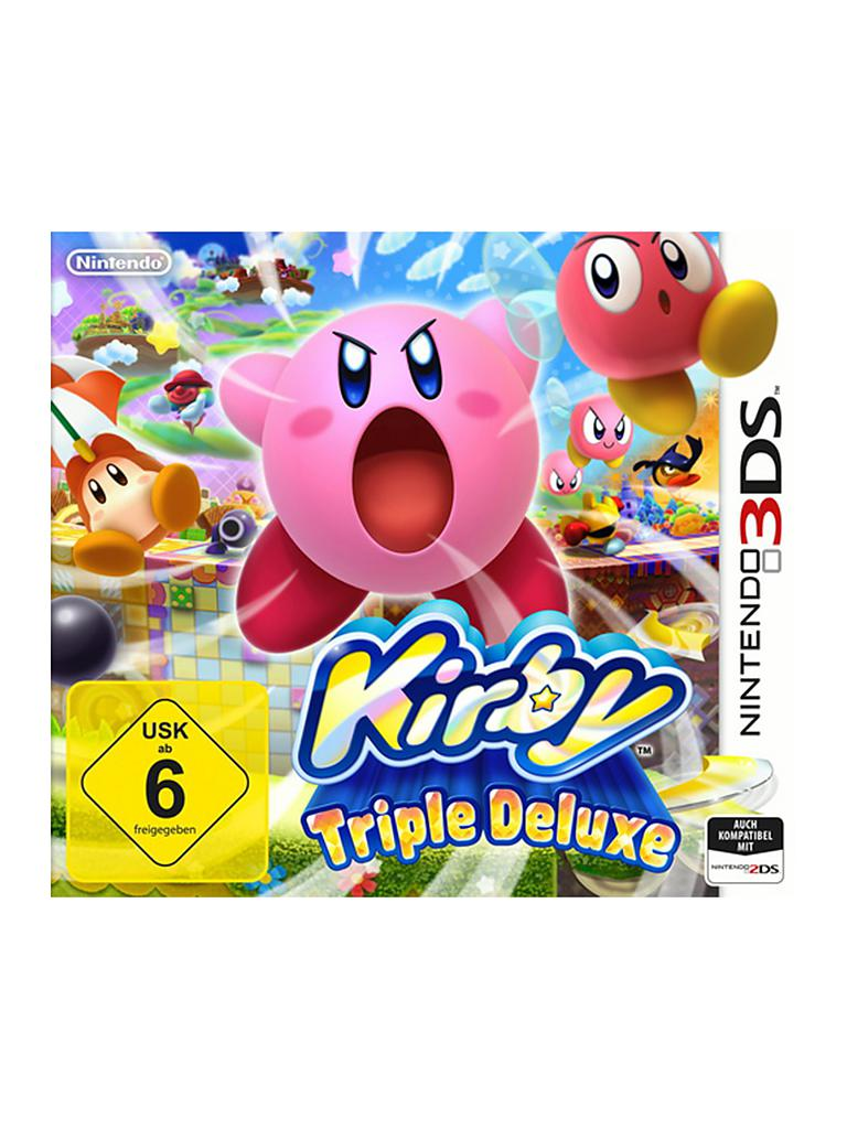 Nintendo 3DS | Kirby - Triple Deluxe | transparent