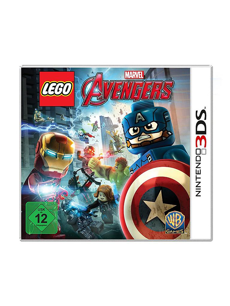 NINTENDO 3DS | LEGO - Marvel Avengers | transparent