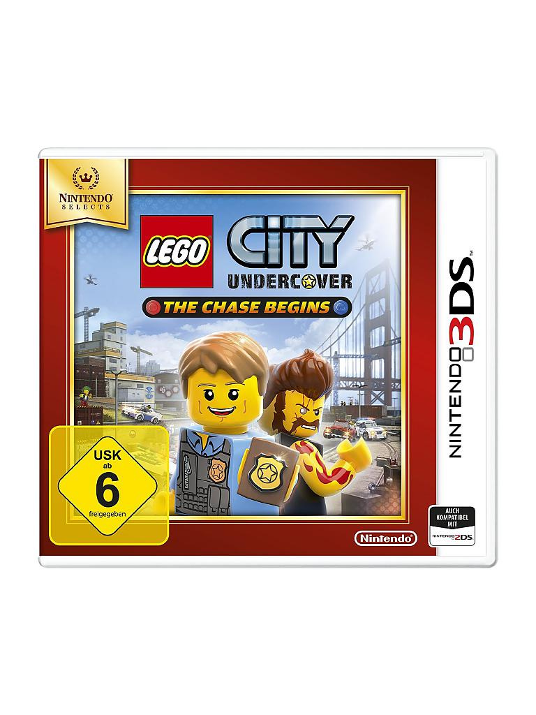 NINTENDO 3DS | Lego City Undercover - The Chase Begins - Nintendo Selects | transparent