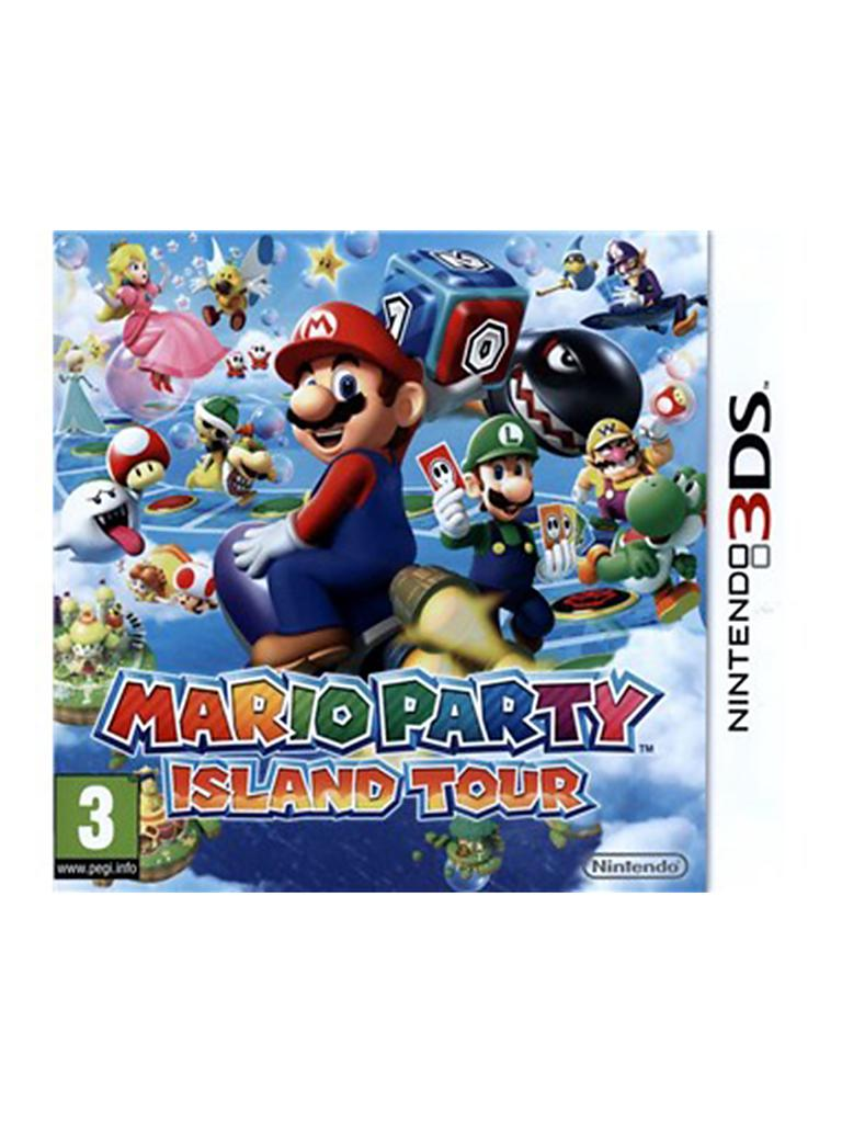 NINTENDO 3DS | Mario Party Island Tour | transparent