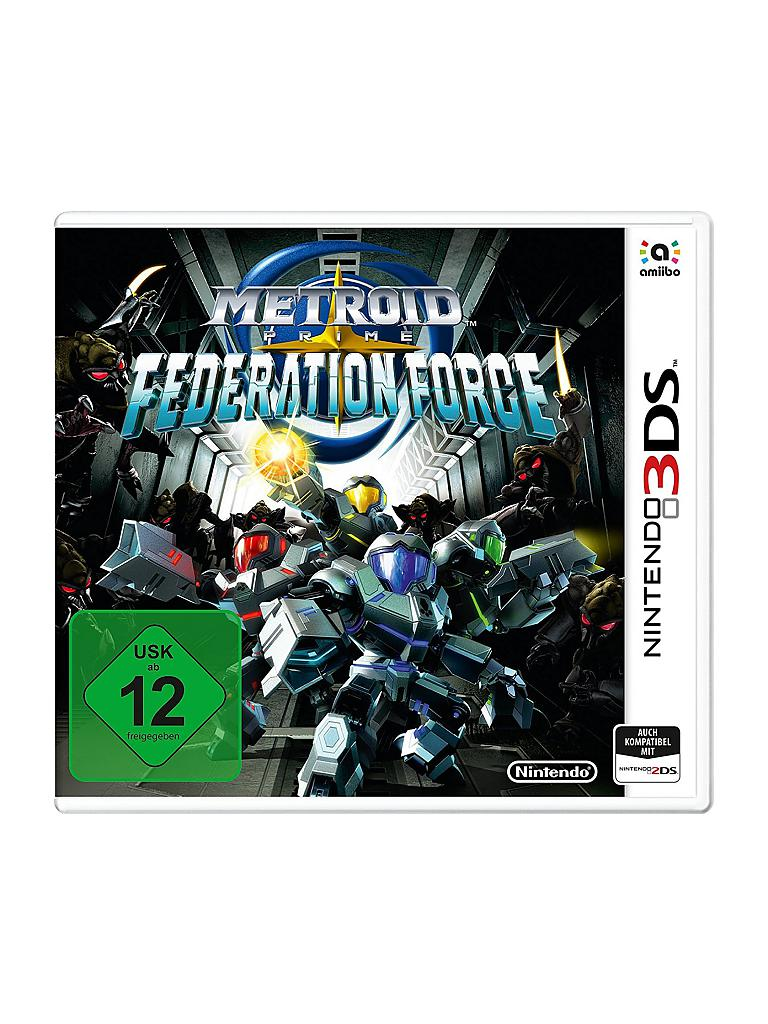 NINTENDO 3DS | Metroid Prime - Federation Force | transparent