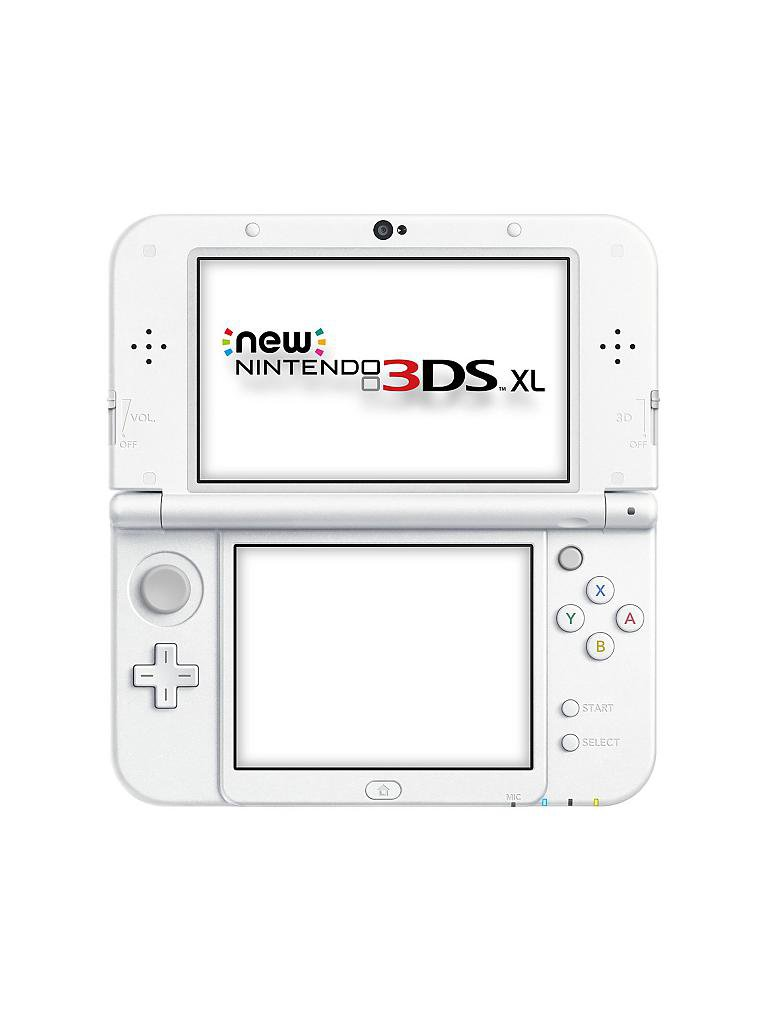 NINTENDO 3DS | New Nintendo 3DS XL Pearl White  | transparent
