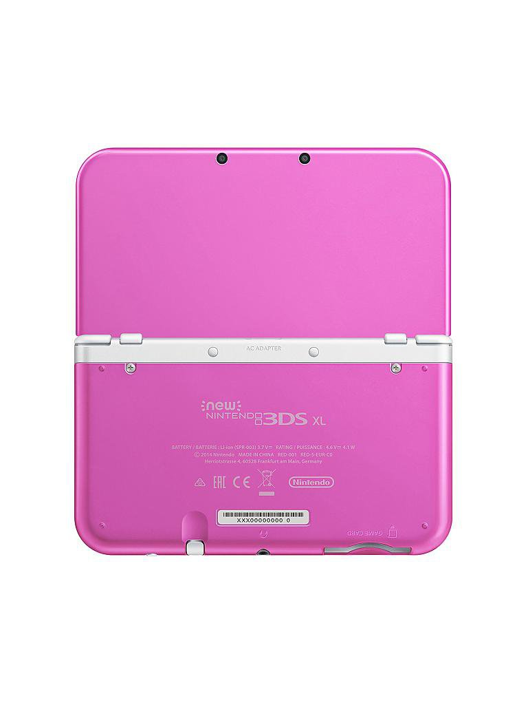 NINTENDO 3DS | New Nintendo 3DS XL Pink White  | transparent