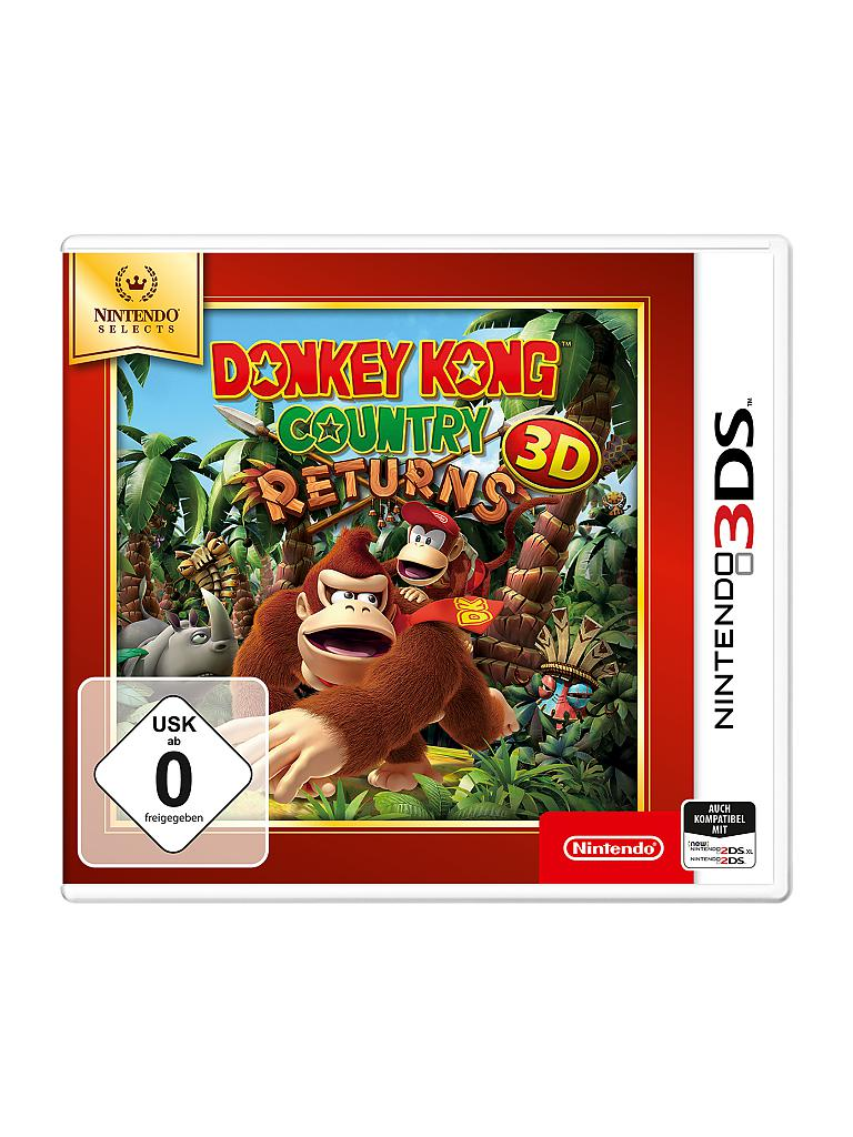NINTENDO 3DS | Nintendo Selects - Donkey Kong Country Returns 3D | transparent
