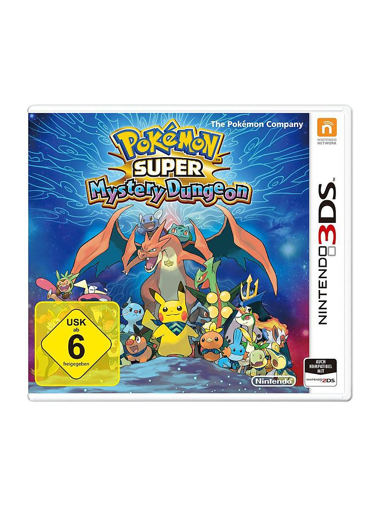 NINTENDO 3DS | Pokemon Super Mystery Dungeon | transparent