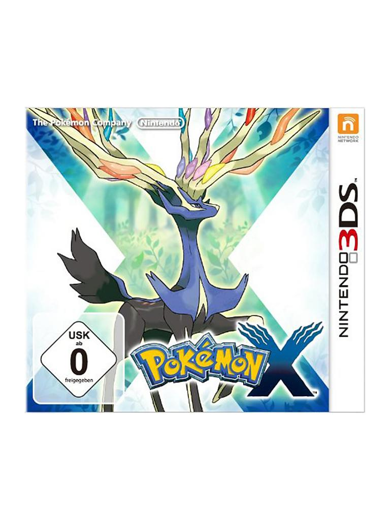 NINTENDO 3DS | Pokemon X | transparent