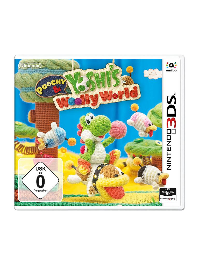NINTENDO 3DS | Poochy & Yoshi's Woolly World | transparent