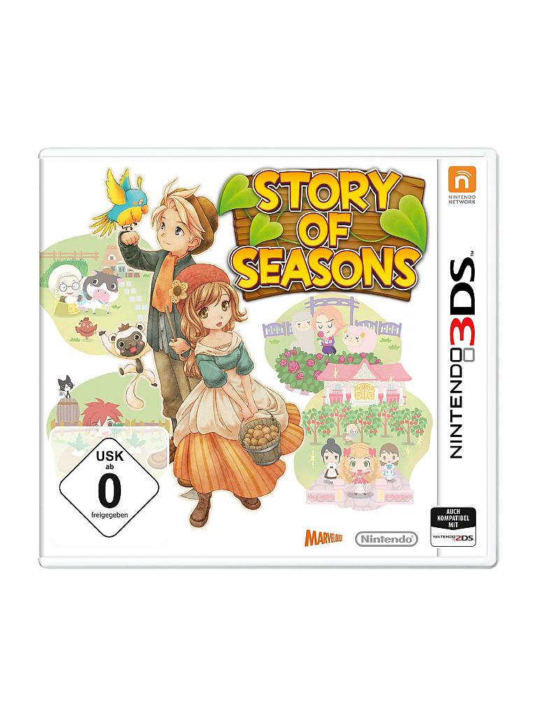 NINTENDO 3DS | Story of Seasons | transparent