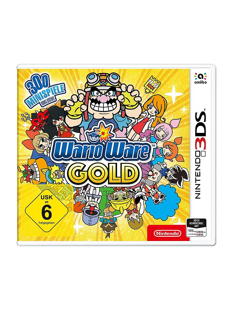 NINTENDO 3DS | Wario Ware Gold 3DS | transparent