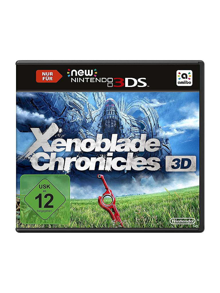 NINTENDO 3DS | Xenoblade Chronicles 3D | transparent