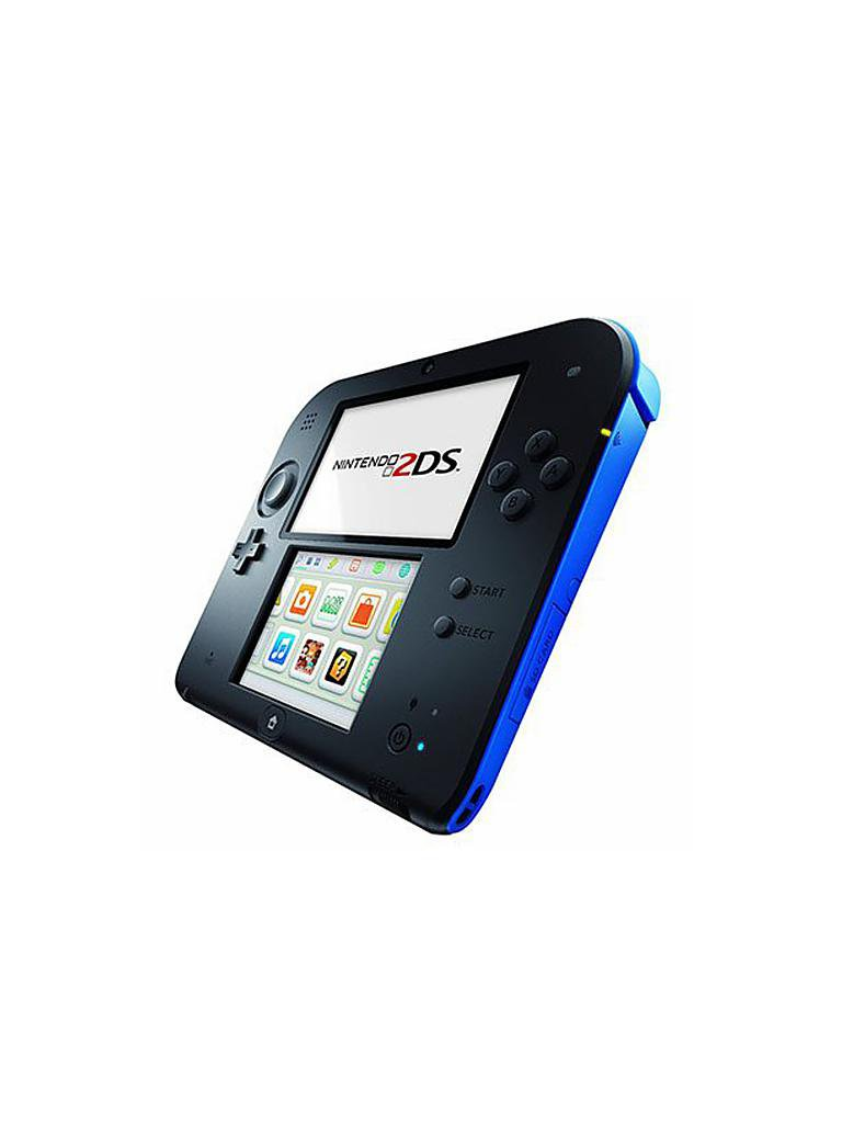 NINTENDO DS | 2DS Konsole inkl. New Super Mario Bros 2 | transparent