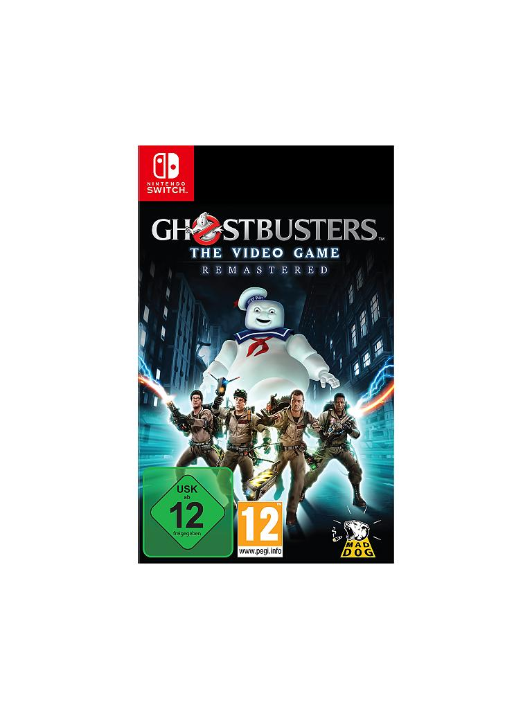 NINTENDO SWITCH | Ghostbusters - The Video Game Remastered | transparent