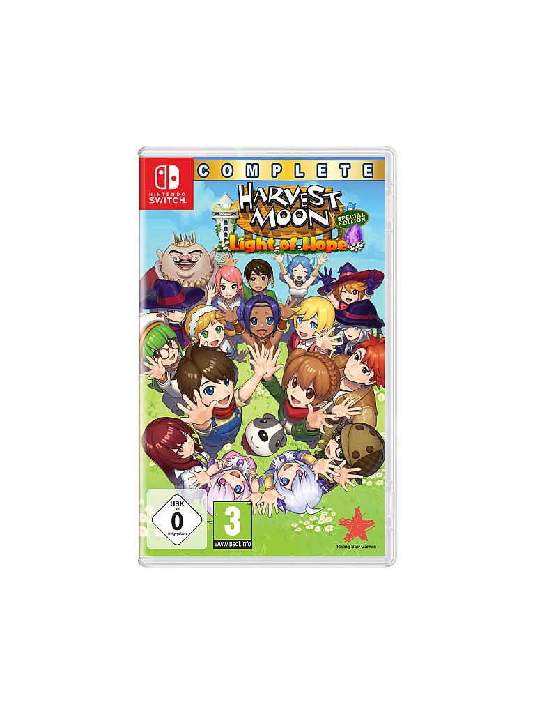 NINTENDO SWITCH | Harvest Moon - Light of Hope Complete Special  | transparent