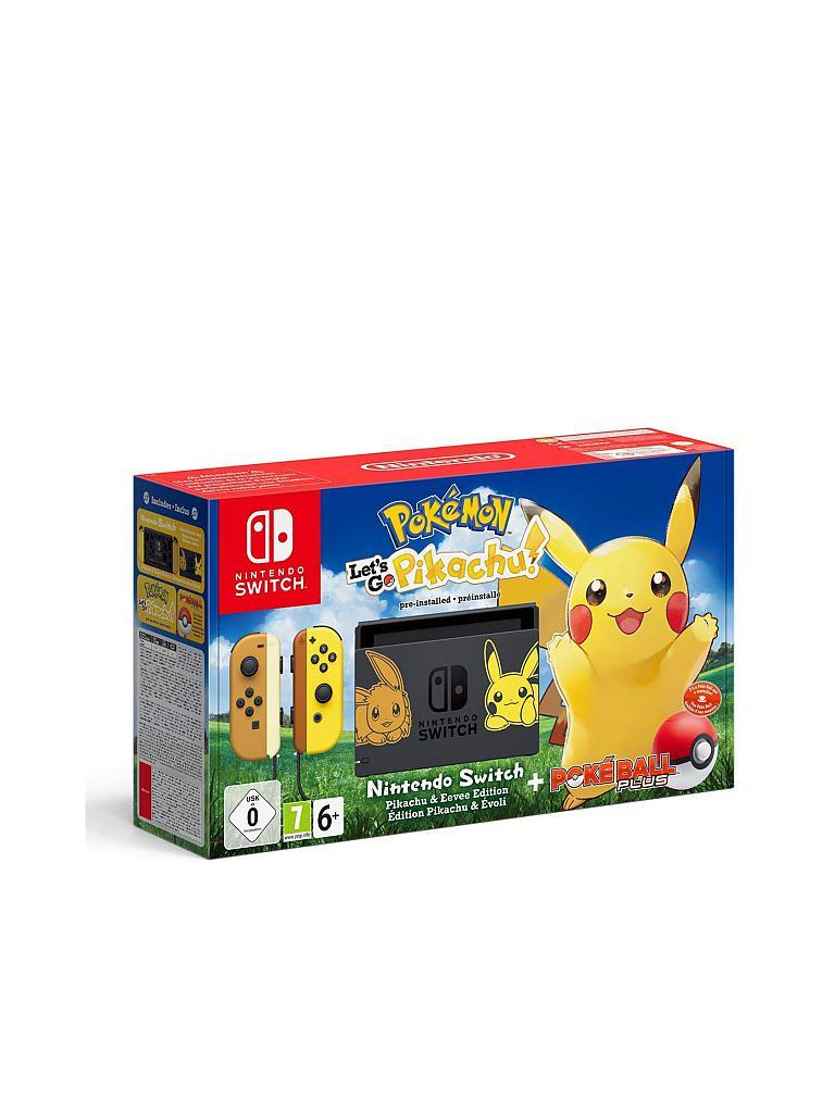 Nintendo Switch Nintendo Switch Pokémon Let S Go Pikachu Bundle