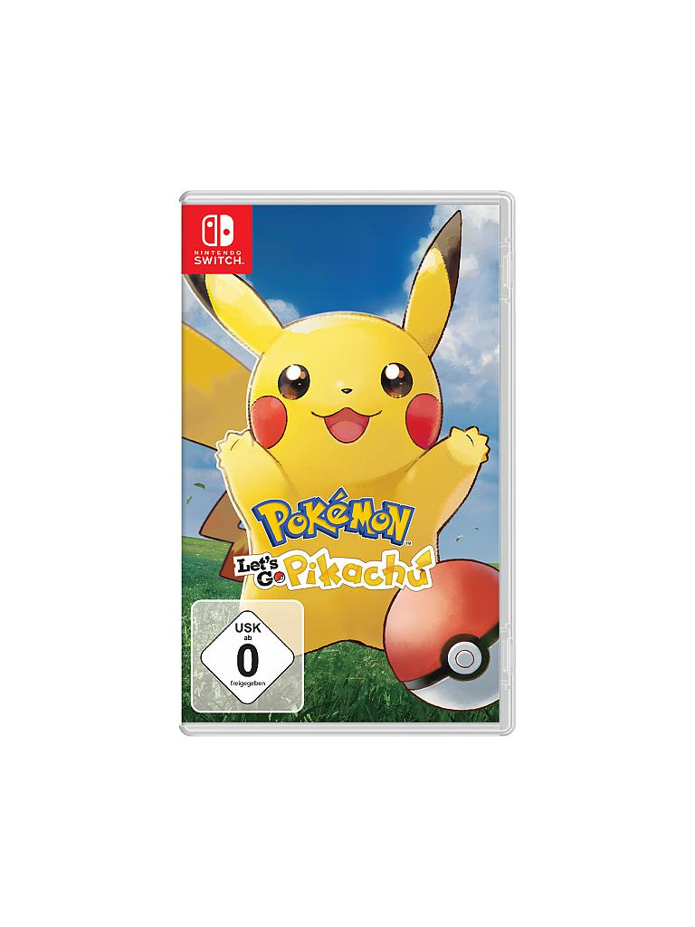 NINTENDO SWITCH | Pokémon - Let's Go Pikachu | transparent