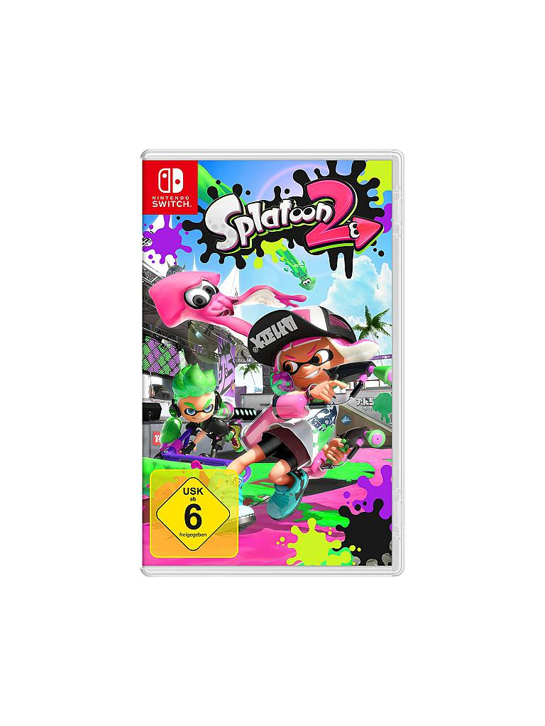 NINTENDO SWITCH | Splatoon 2 | transparent