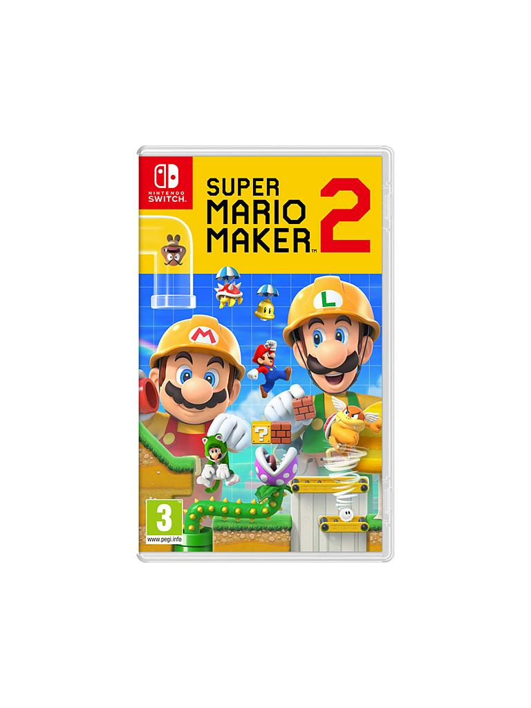 NINTENDO SWITCH | Super Mario Maker 2 | transparent