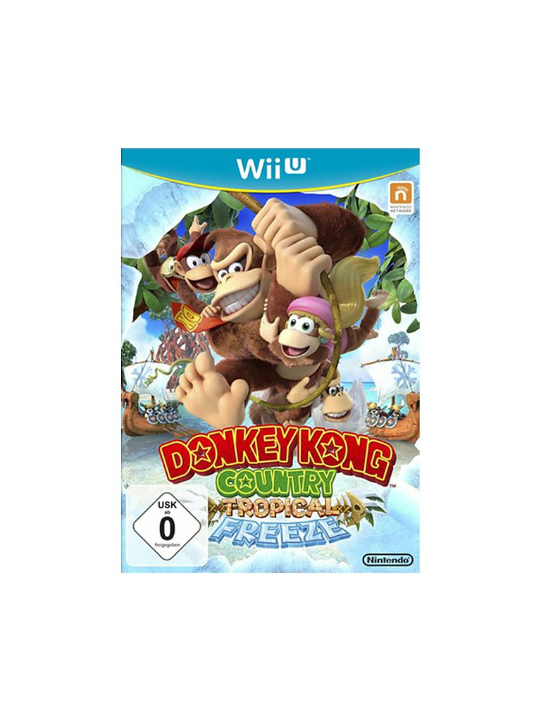NINTENDO WII U | Donkey Kong - Country Tropical Freeze | transparent