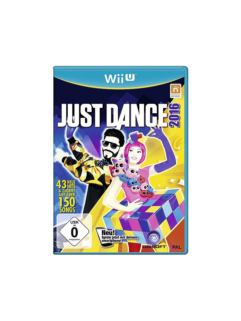 NINTENDO WII U | Just Dance 2016 | transparent