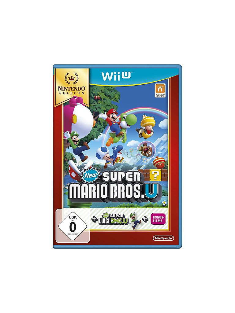 NINTENDO WII U | New Super Mario Bros. U + New Super Luigi U - Nintendo Selects | transparent