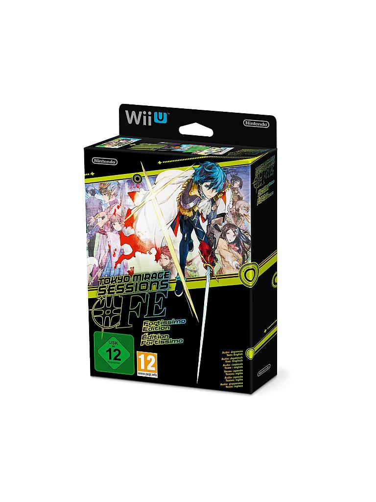 NINTENDO WII U | Tokyo Mirage Sessions - Fortissimo Edition | transparent