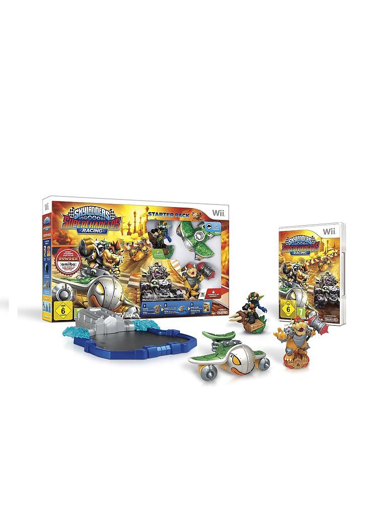 "NINTENDO WII | Skylanders Superchargers - Racing Starter Pack ""Dark"" 