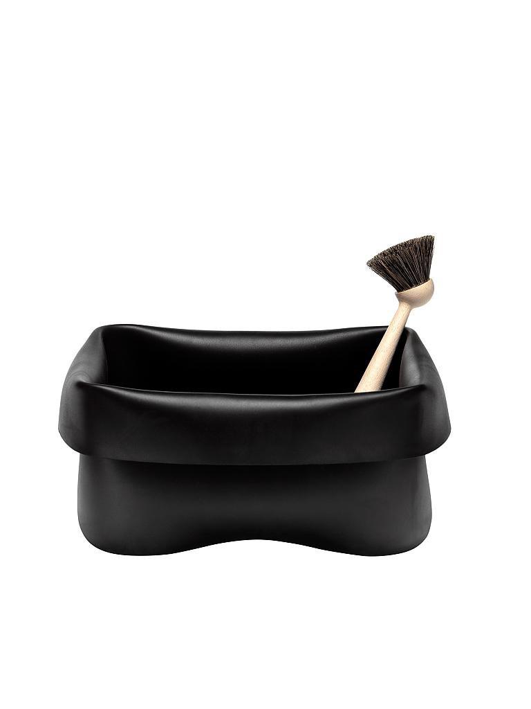 normann copenhagen sp lbecken mit b rste schwarz. Black Bedroom Furniture Sets. Home Design Ideas