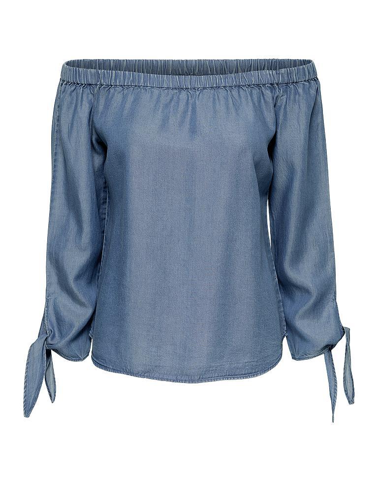 ONLY Bluse in Denimoptik \