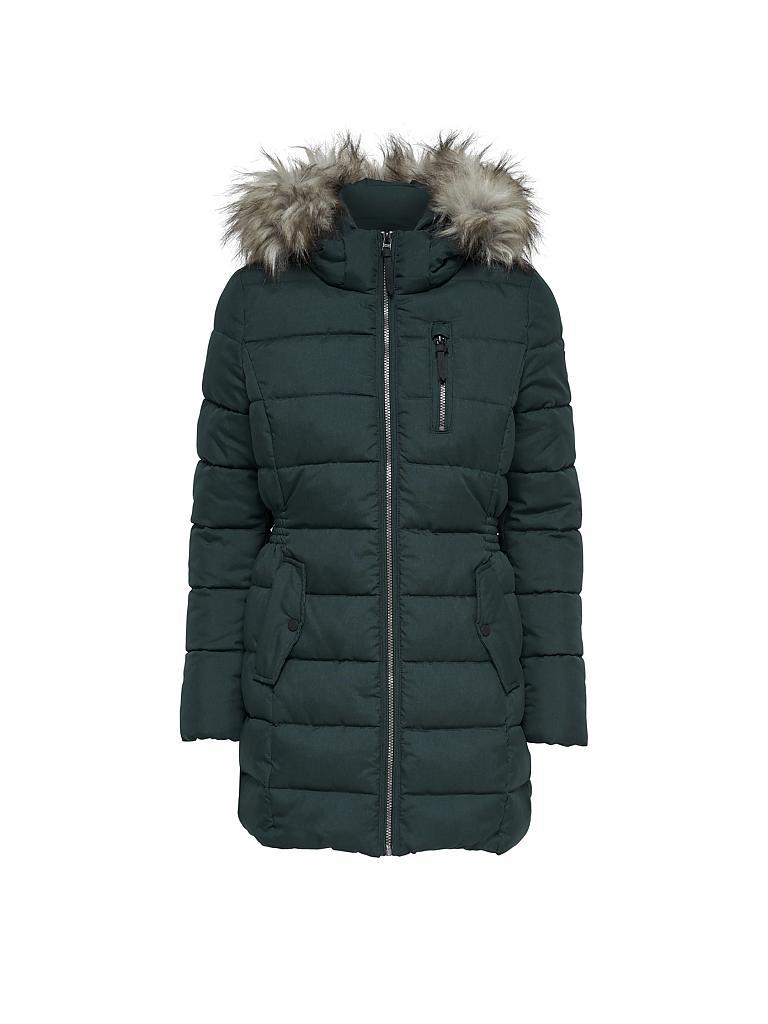 Only mantel schwarz mit kapuze