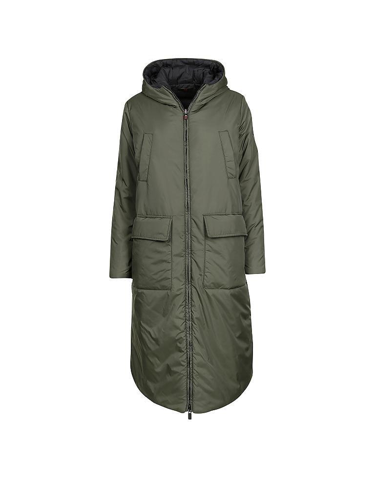 Mantel mit spitzer kapuze