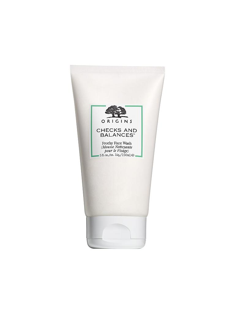 ORIGINS | Checks & Balances Frothy Face Wash 150ml | transparent