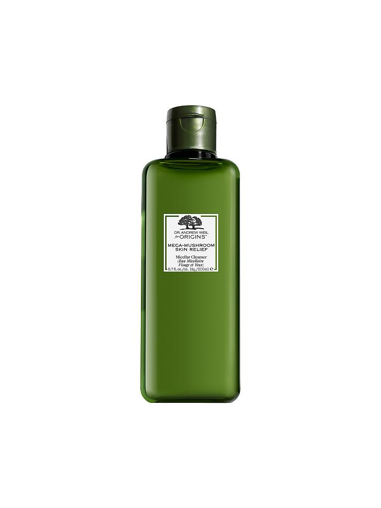 ORIGINS | Dr. Weil Mega Mushroom - Skin Relief Micellar Cleanser 200ml | transparent