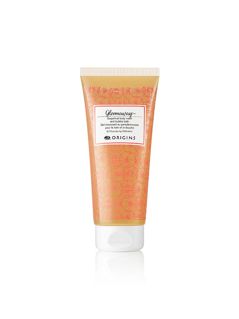 ORIGINS | Gloomaway™  Grapefruit Body Wash And Bubble Bath 200ml | transparent