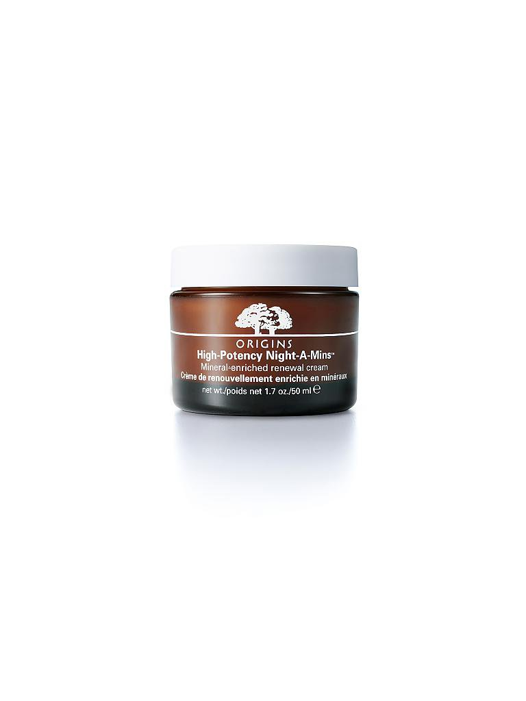 ORIGINS | High Potency Night-A-Mins Mineral-Enriched Renewal Cream 50ml | transparent