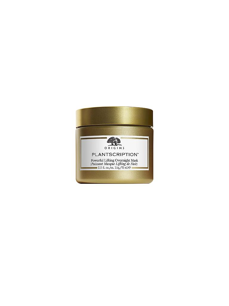 ORIGINS | Plantscription™  Powerful Lifting Overnight Mask 75ml | transparent