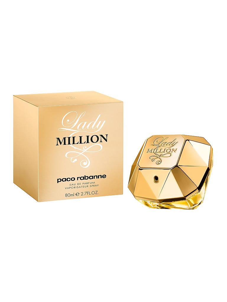 PACO RABANNE | Lady Million Eau de Parfum Spray 80ml | transparent