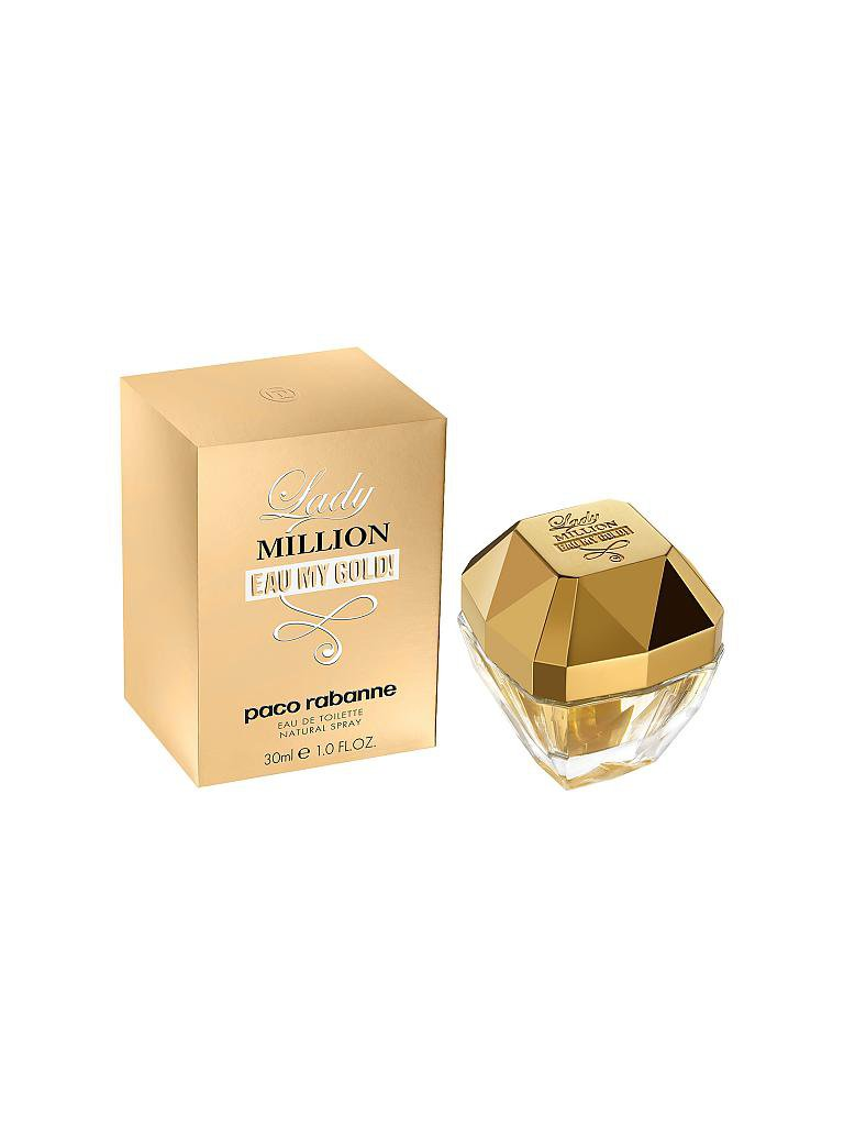 PACO RABANNE | Lady Million Eau My Gold Eau de Toilette Spray 30ml | transparent