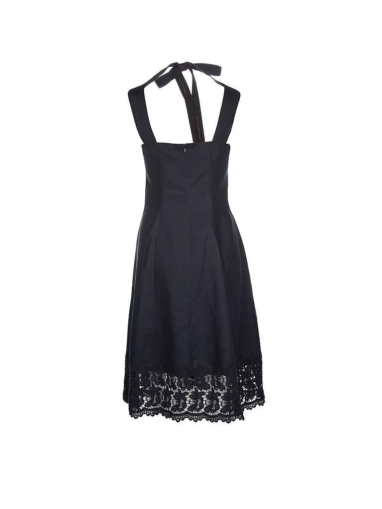 PASSPORT Leinen-Kleid schwarz   34 18ad536d7e