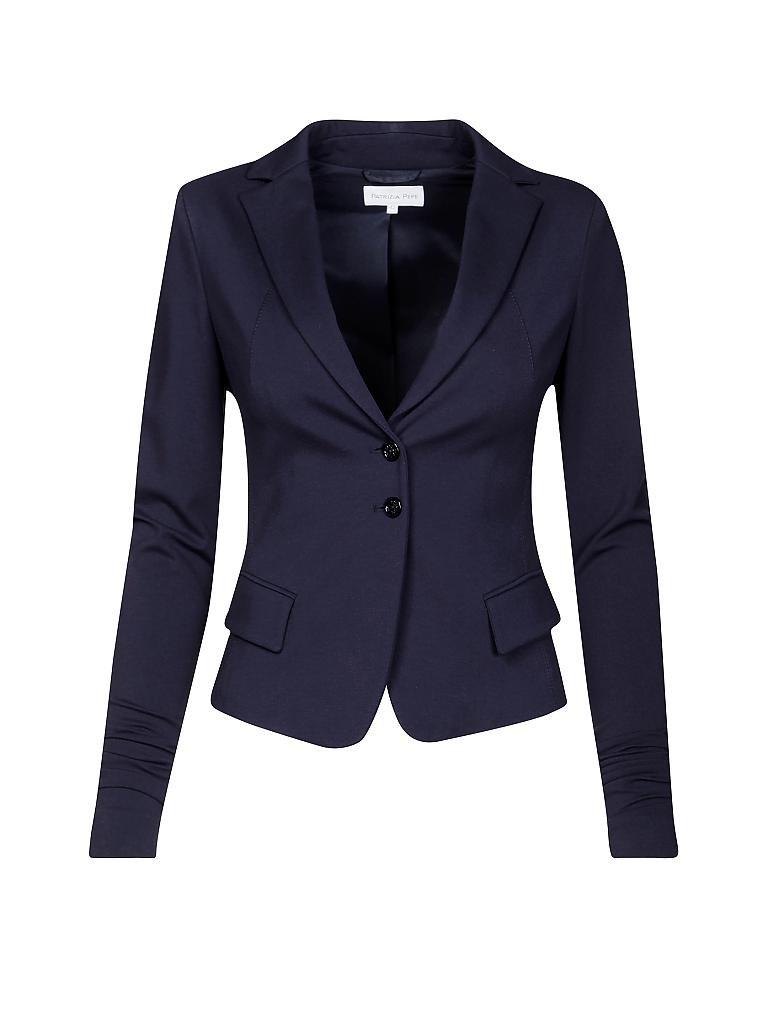 patrizia pepe blazer blau 34 40. Black Bedroom Furniture Sets. Home Design Ideas